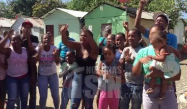 Protestan en sector Guachupita de San Juan exigiendo arreglo de calles