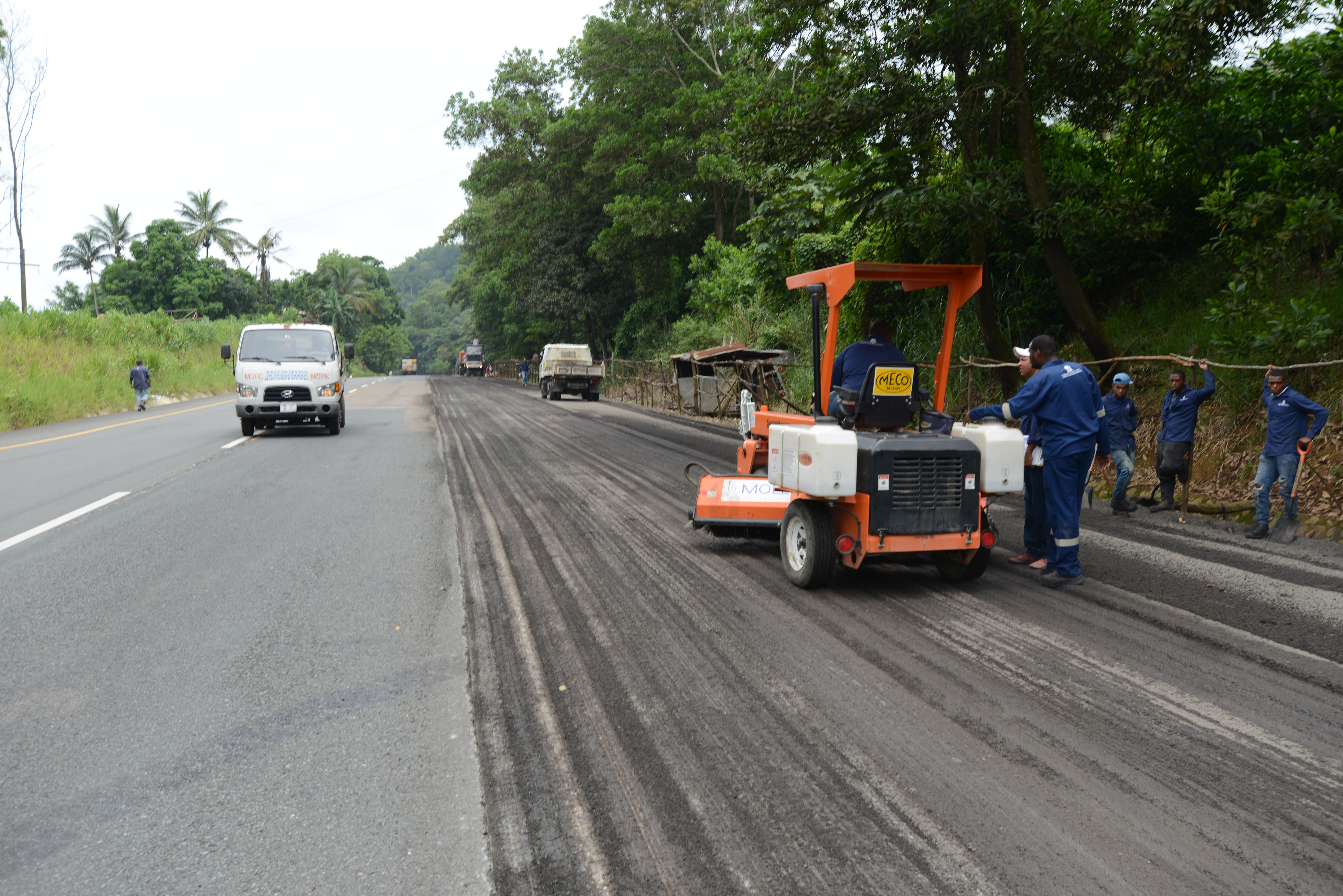 Concluirán trabajos en autopista Duarte entre Bonao-La Vega en diciembre