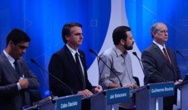 Corrupción y radicalización en debate presidencial en Brasil sin líderes