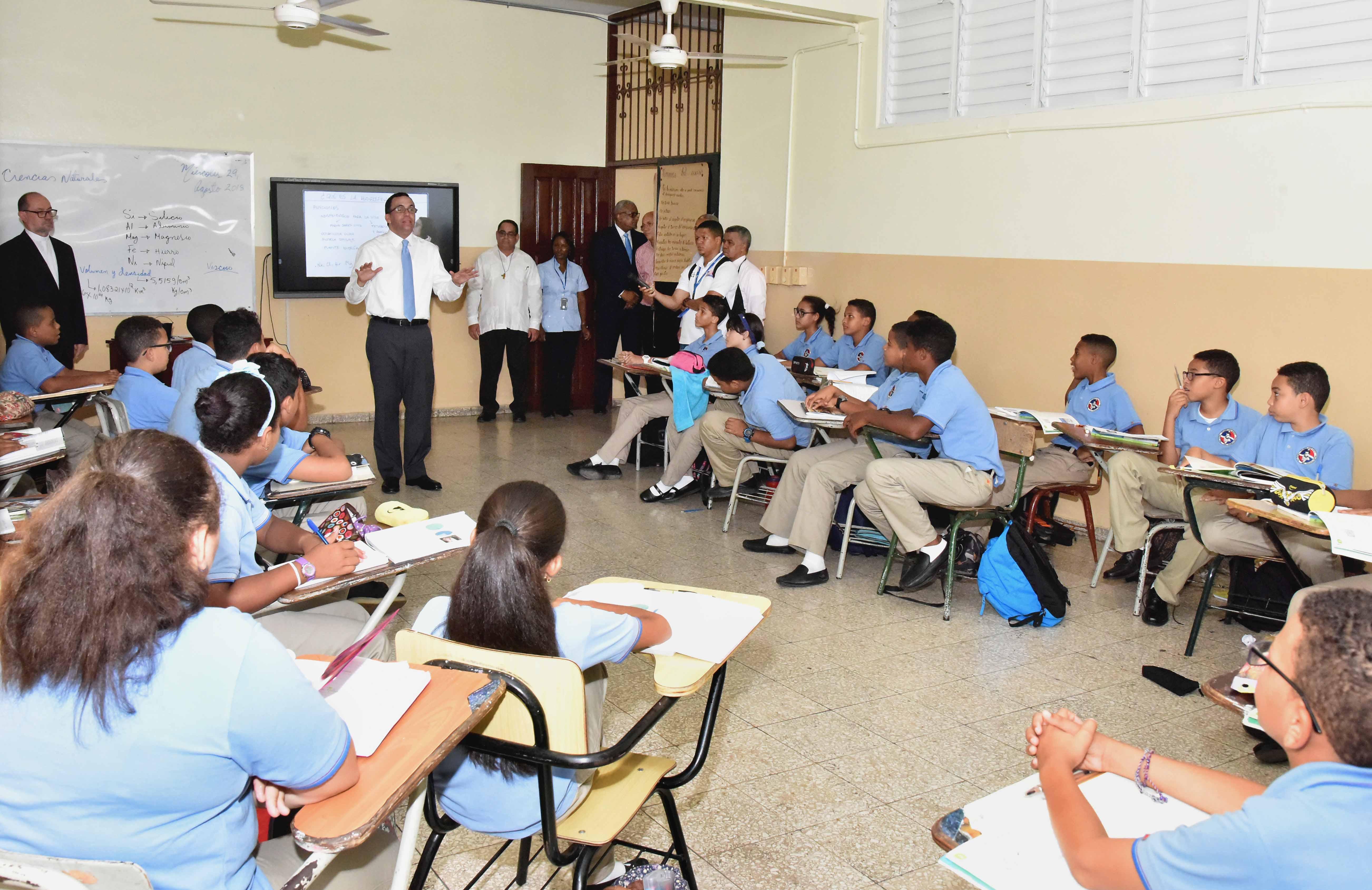 MINERD pone en marcha República Digital Educación en colegio Don Bosco