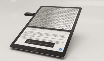 Blitab, un dispositivo que traduce internet al braille