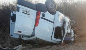Mueren ocho personas en accidente de tráfico en Argentina