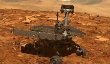 NASA avista explorador Opportunity desaparecido en Marte hace 107 días