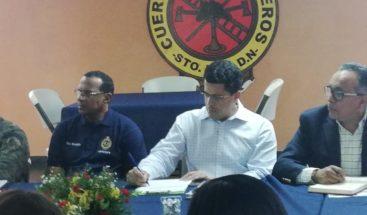 Alcalde DN toma medidas de prevención ante efectos de la tormenta Isaac