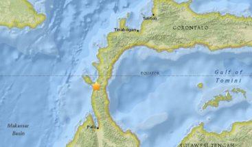 Terremoto de 7,5 grados sacudió Indonesia: al menos un muerto y heridos