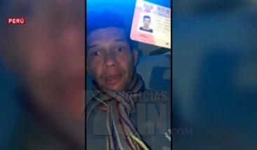 Expulsan de Perú a ciudadano venezolano por alterar el orden público