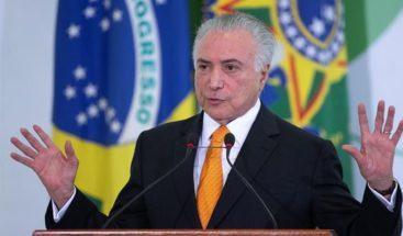 Temer promete Brasil seguirá siendo solidario con emigrantes venezolanos