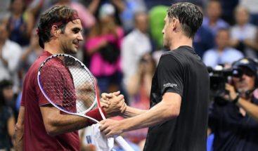 Federer achaca al
