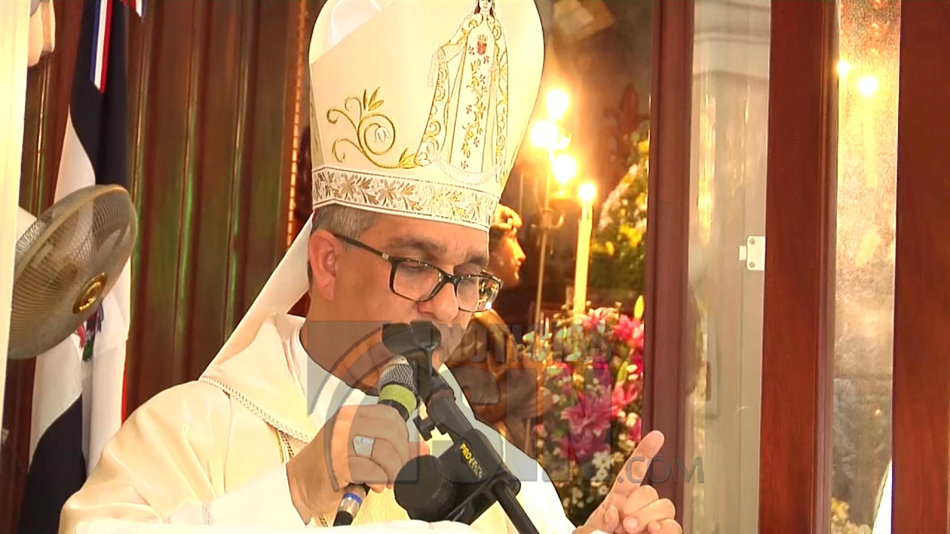 Católicos celebran Día de Las Mercedes en La Vega
