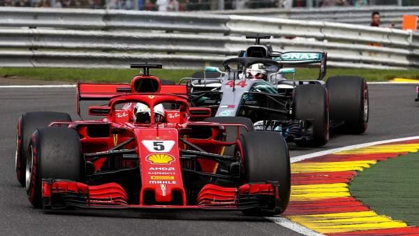 Vettel domina los Libres 1, en la primera sesión del Gran Premio Ruso