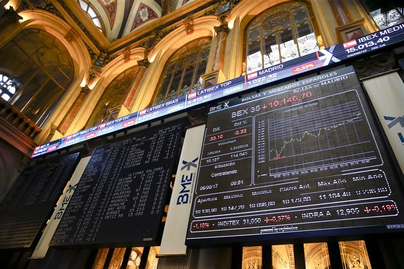 La Bolsa española sube un 1,03 % al cierre empujada por la banca