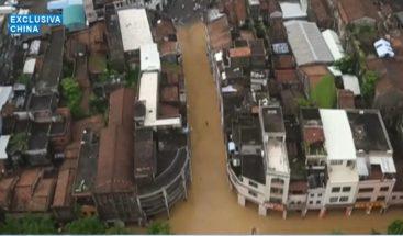 Mangkhut, el tifón más grave del año, siembra caos en sureste de China