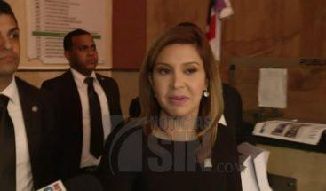 Nueva fiscal del Distrito Nacional toma posesión de su cargo