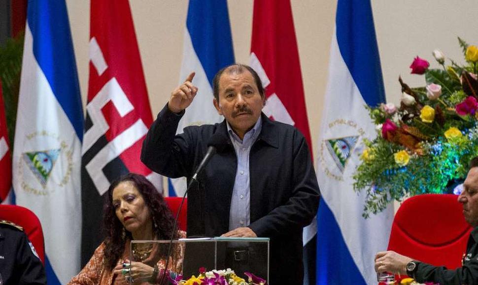 Daniel Ortega pide a Estados Unidos no meterse en la crisis nicaragüense