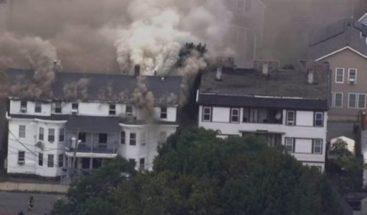 Veintitrés edificios afectados por serie de explosiones de gas en EEUU