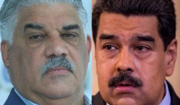 Miguel Vargas descarta desde RD se orqueste plan para golpe en Venezuela