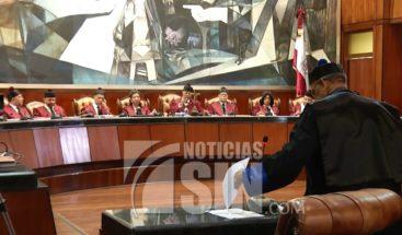 Presidente Medina convoca al CNM para sustituir jueces