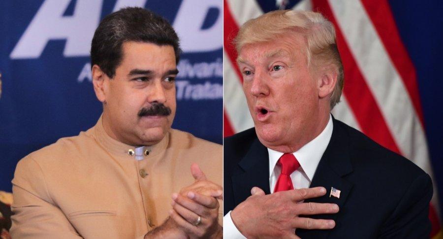 Trump dice que está abierto a reunirse con Maduro en la ONU si él quiere