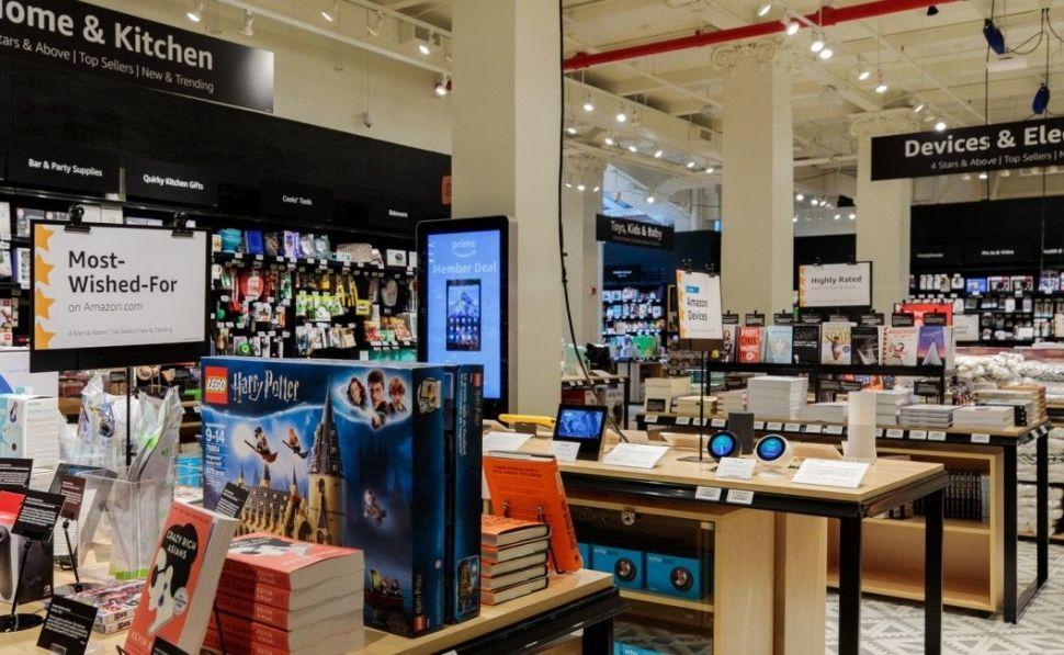 Amazon inaugura tienda física con sus productos más valorados