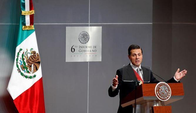 Peña Nieto ensalza su legado en un último informe plagado de omisiones