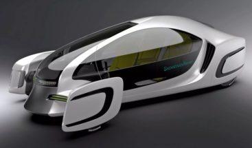 Presentan el primer coche eléctrico hecho casi completamente de plástico