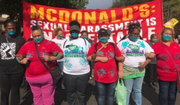 Empleadas de McDonald's marchan por acoso sexual en Chicago