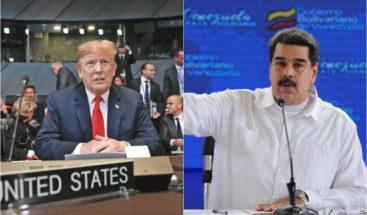 La Casa Blanca descarta una reunión hoy entre Trump y Maduro en NY