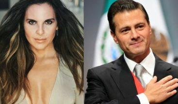 Kate del Castilloacusó por segunda vez al gobierno de Peña Nieto
