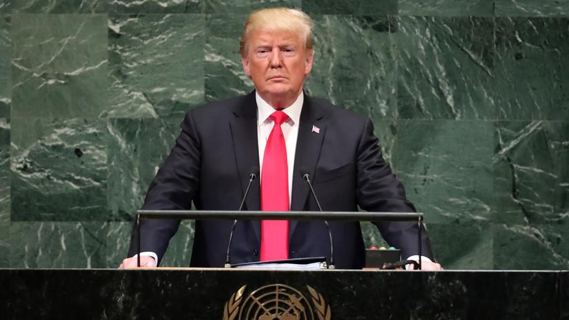 Trump aprovecha Asamblea de la ONU para lanzar acusaciones contra Irán