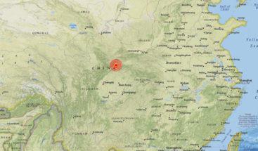 Un sismo de magnitud 5,3 se registra en el centro de China