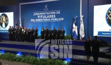Juramentan nuevos fiscales y procuradores elegidos por concurso