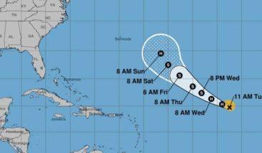 Se forma el huracán Florence en el océano Atlántico