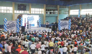 Alcalde DN juramenta a voluntarios del programa Educación Ciudadana