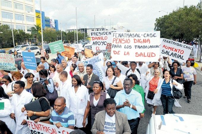 Gremios del sector de enfermería piden ser incluidos en presupuesto PIB