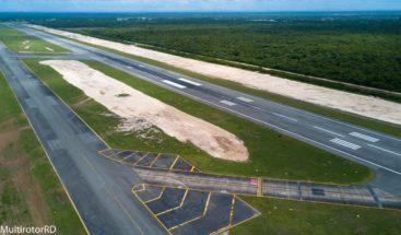 Extienden pista de aterrizaje en el Aeropuerto de Las Américas
