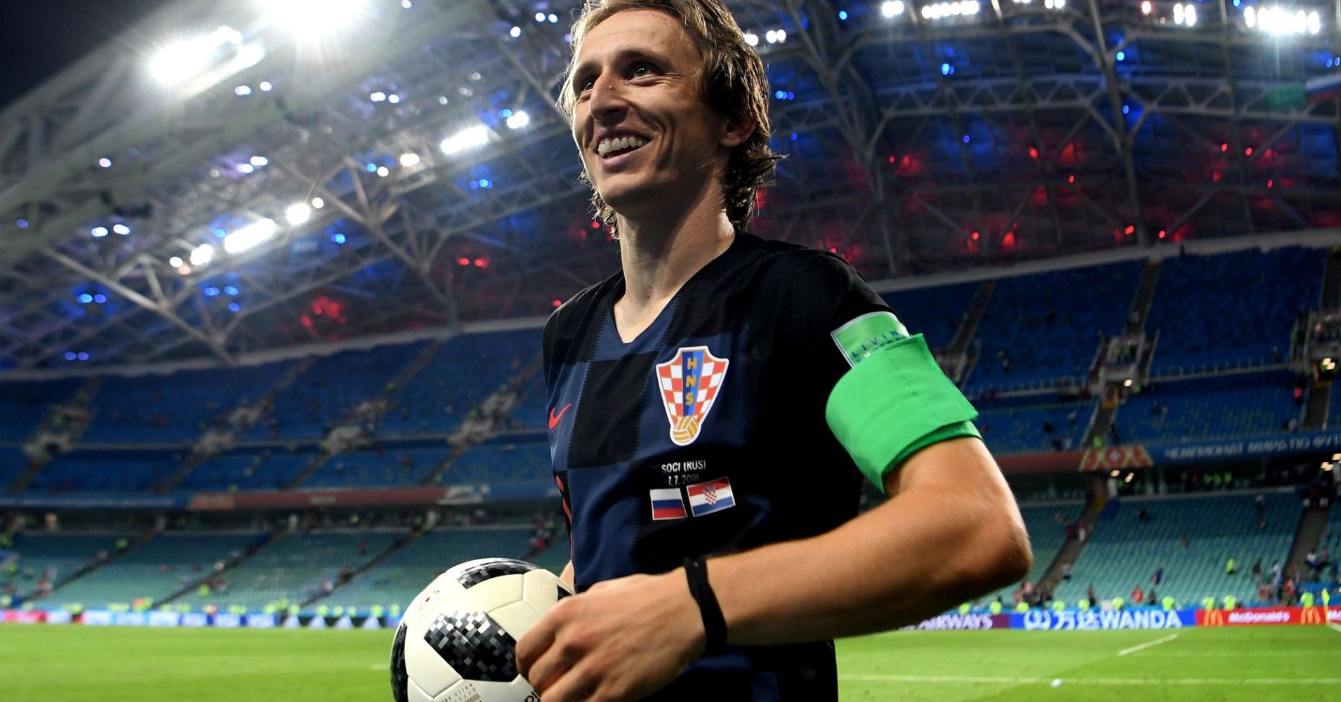 La FIFA reconoce a Luka Modric como el mejor futbolista de 2018