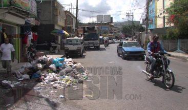 Cúmulo de basura en avenidas de SDN por finalización de contrato