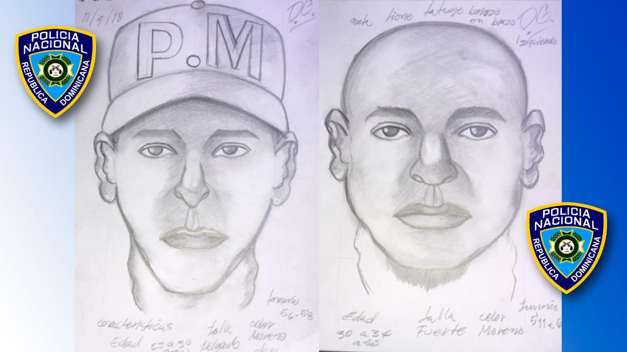 PN muestra retrato de secuestradores de empresaria en Cotuí