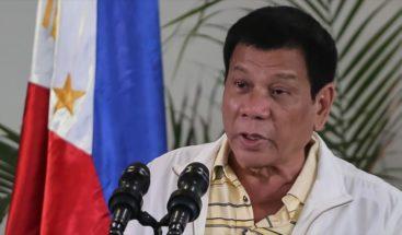 El presidente de Filipinas asegura que solo comprará armas a Israel