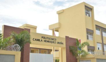 Presidente Medina entrega nuevo politécnico en Andrés Boca Chica