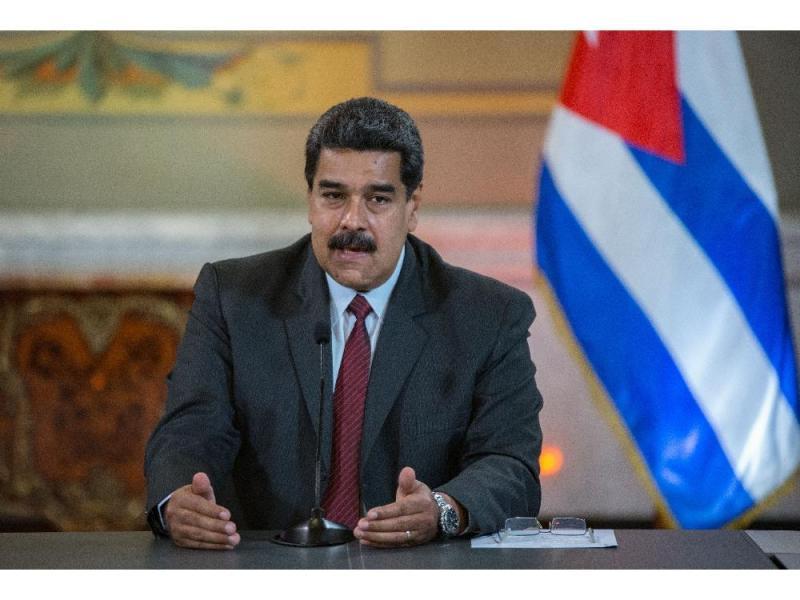 Maduro deplora sanción de EEUU contra su esposa