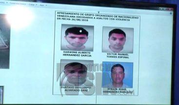 PN desmantela banda de venezolanos que habría asaltado cafetería