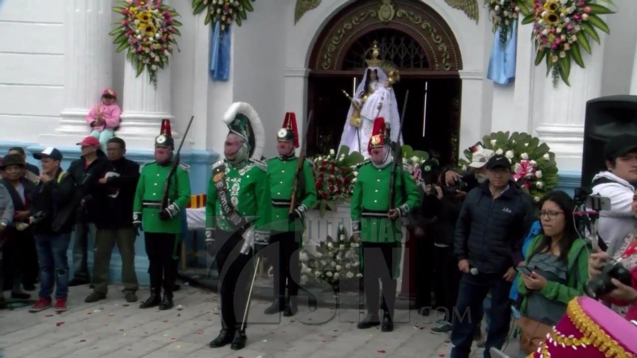 Celebran fiesta en honor a Virgen de Las Mercedes en Ecuador