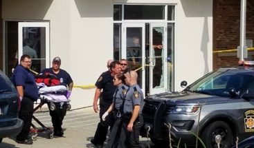 Tiroteo deja un muerto y 4 heridos en corte de Pensilvania