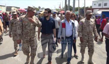 OEA visita frontera dominico-haitiana para desarrollar proyectos