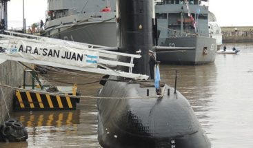 Estudian si objeto de 55 metro es submarino argentino desaparecido
