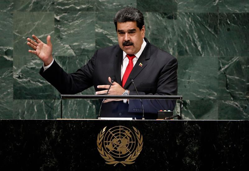 Maduro dice EEUU busca excusas para invadir su país como pasó en Irak