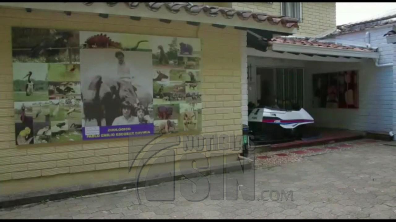 """Clausuran """"museo de Pablo Escobar"""" en Colombia"""