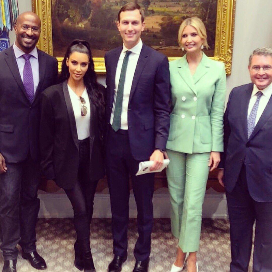 Kardashian vuelve a la Casa Blanca a interceder por liberación de preso