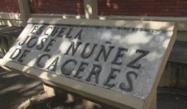 En Ocoa, paralizan docencia en escuela por mal estado
